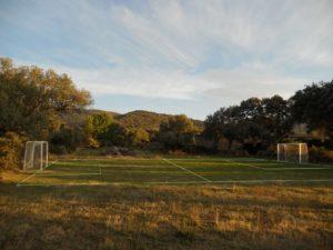 deportes campo de futbol hotel