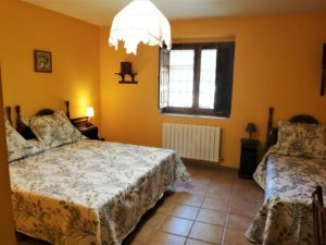 habitación hotel en Gredos Ávila