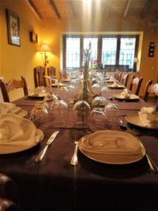 latrocha comidas grupos hotel