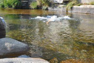 piscinas naturales en Gredos pozas